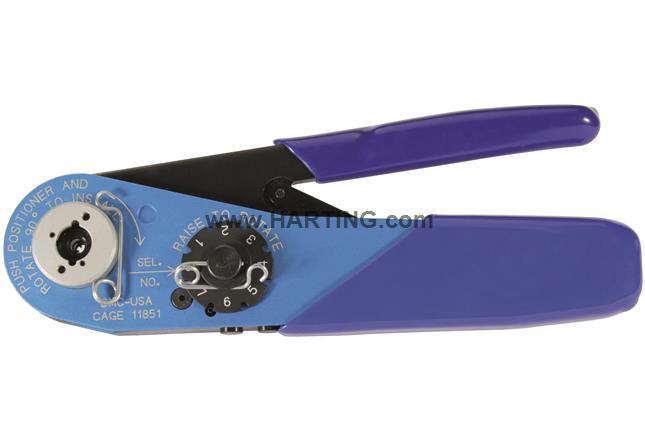 dsub hand crimp tool inn coax signal c 09990000501 harting. Black Bedroom Furniture Sets. Home Design Ideas