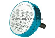 Locator D-Sub turned standard contacts