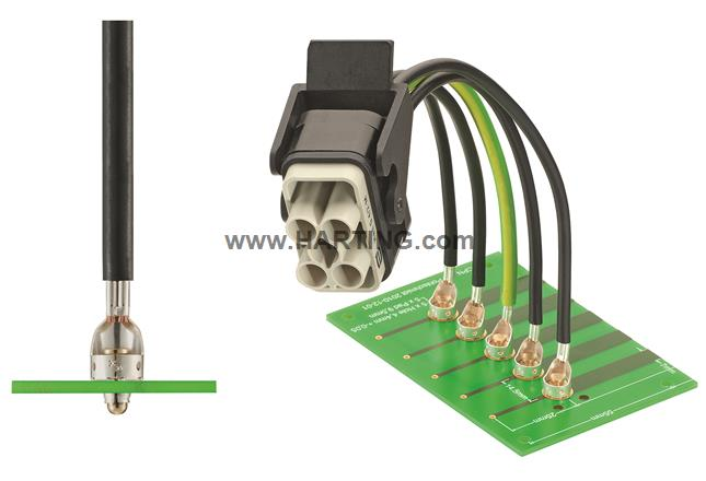 Han-Fast Lock 4-6mm² m.Pin Ag Ro 2300St.