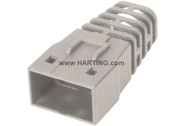 RJI RJ45 Compact boot light grey 7,5mm