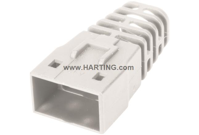 RJI RJ45 Compact boot white 7,5mm; (100)