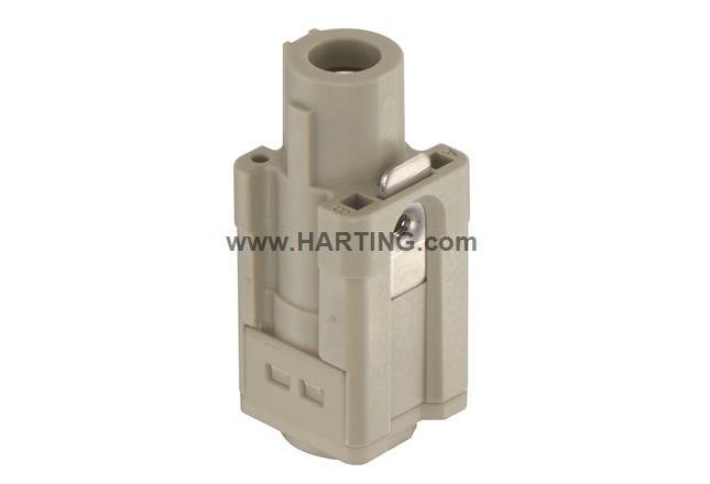 Han Q1/0-F-axial screw