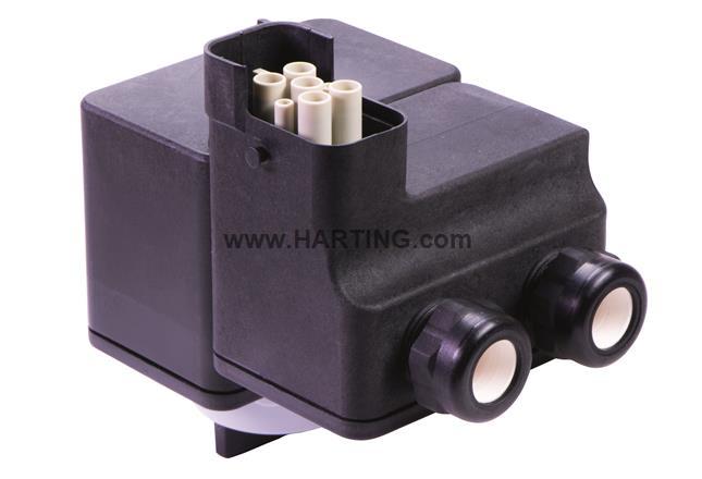 HAN Q4/2 Y-Junctionbox w. Switch 7.5kW
