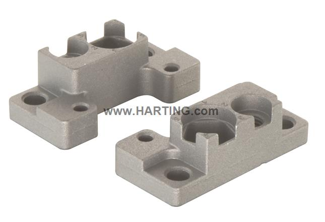 Han HP Direct Mounting Flange Set(2pcs.)
