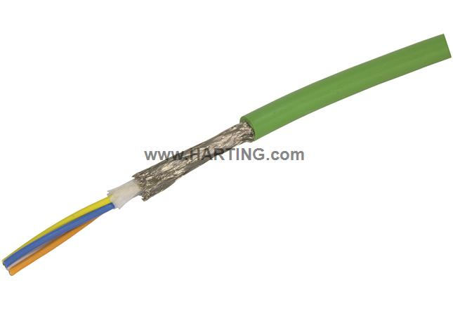 RJI cable 4xAWG22/19 torsion Cat.5;1000m