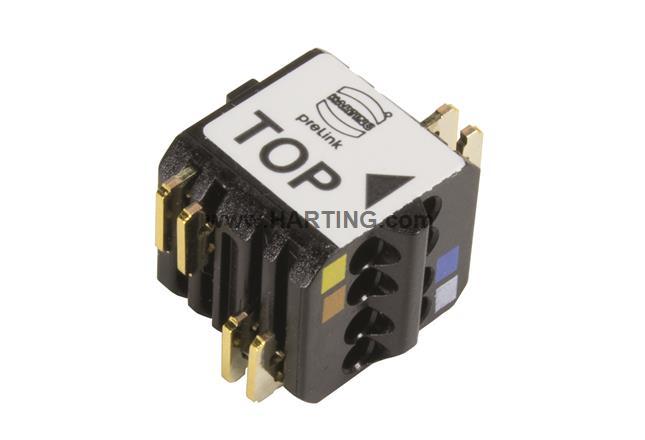 preLink Terminal mod AWG22/24 blk. 1=100