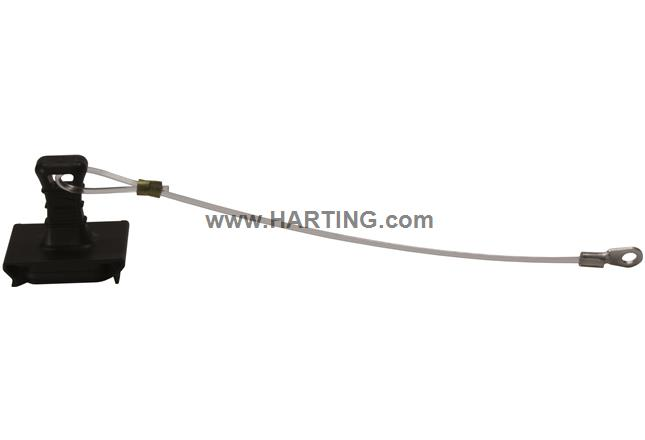 Han-PP dustcap plug lanyard IP65