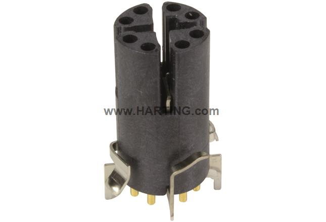 M12-PCB-SMT-2PC-8P-XCOD-F-STR-SHLD