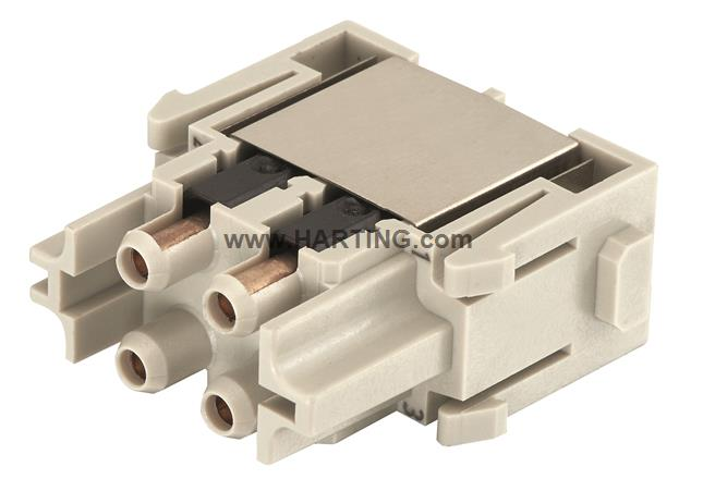 Han SC module, female with metal ferrule