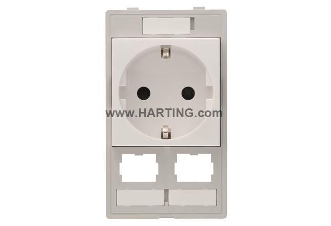 Han-Port Combi insert D/2 HIFF module
