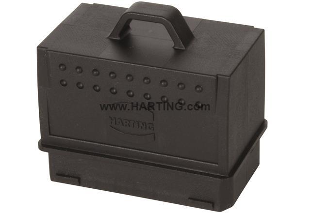 Han PP Power L plug cover IP65