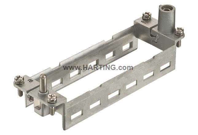 Hinged frame 24B for 6 modules (a..f)