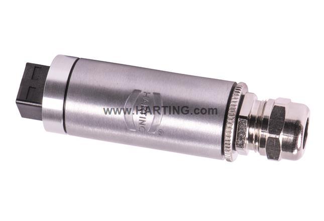 Connector round HARTING PushPullRJ45 V4