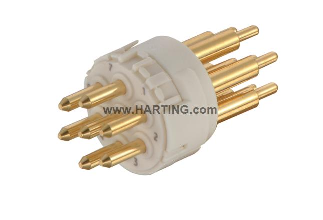 Han M23 07 Male -soldered contact