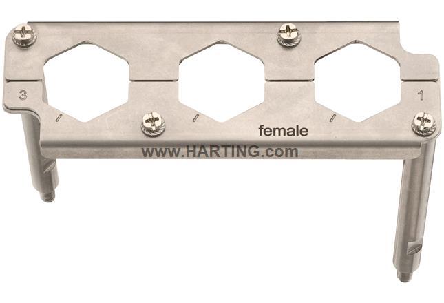 Han 16HPR EasyCon Frame-F 3xHC350A