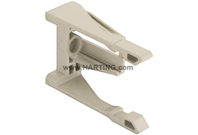 Rail guide for sliding frame