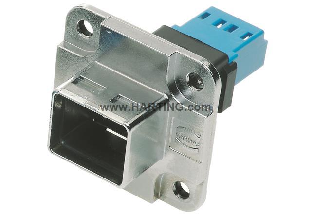 Set  PP Metal receptacle SM GOF adapter