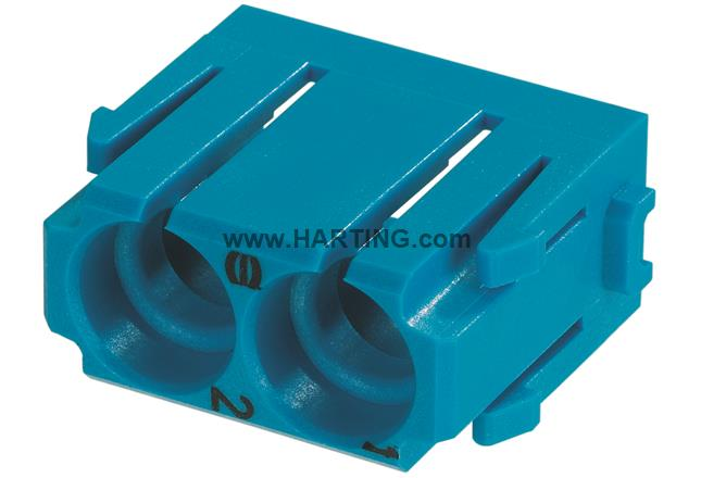 Han Pneumatic module, for 6mm contacts