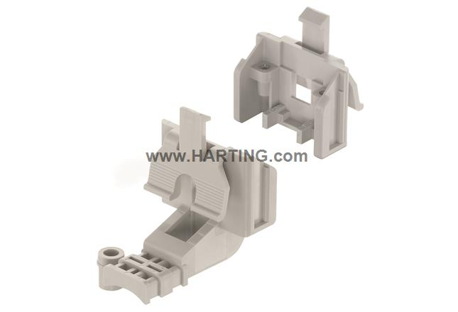 Han-Snap Latching parts w. strain relief