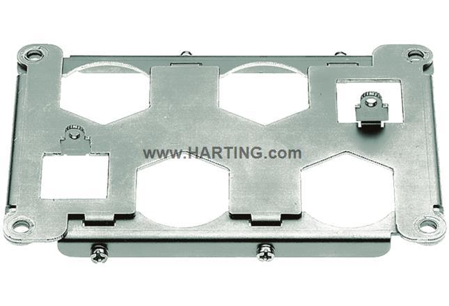Han 48HPR frame for 4XHC350 for housing