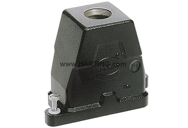 Han 6HPR Hood Top Entry M40 Screw lock