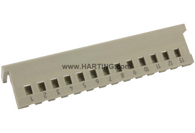 DIN-Power code comb