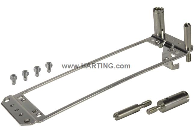DIN-Power retaining frame
