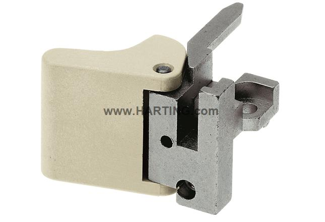 DIN-Power fixing bracket left D20 metal