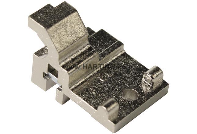 DIN-Power fixing bracket BL15mm metalliz