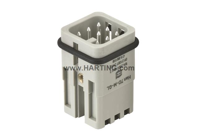 Han 7D-M Quick Lock 1,5mm²