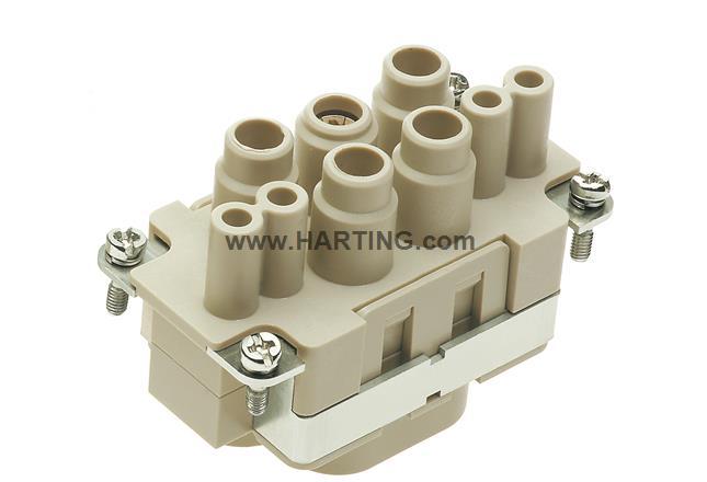 Han K4/4-F 6-16mm² Finger prot