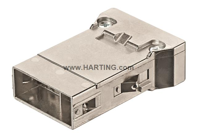 Han Megabit insert male, (shield-GND)