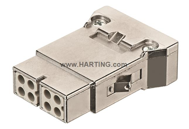 Han Megabit insert female (shield-GND)
