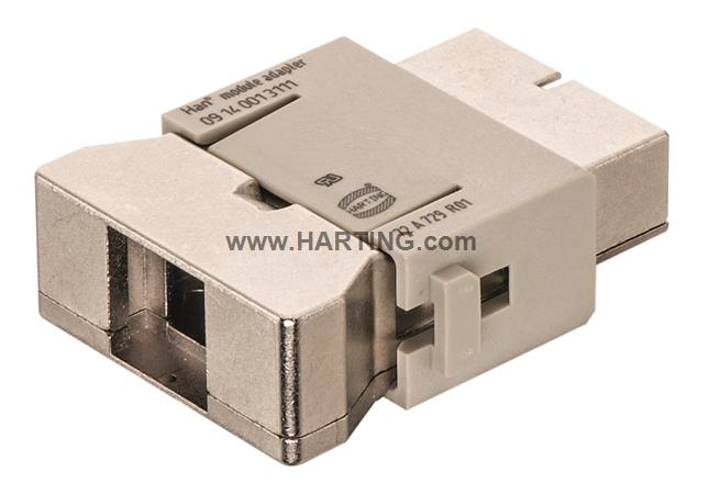 Han Megabit insert female 1 Entry, (GND)