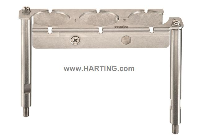 Han 24 HPR EasyCon Frame Male 3X650A