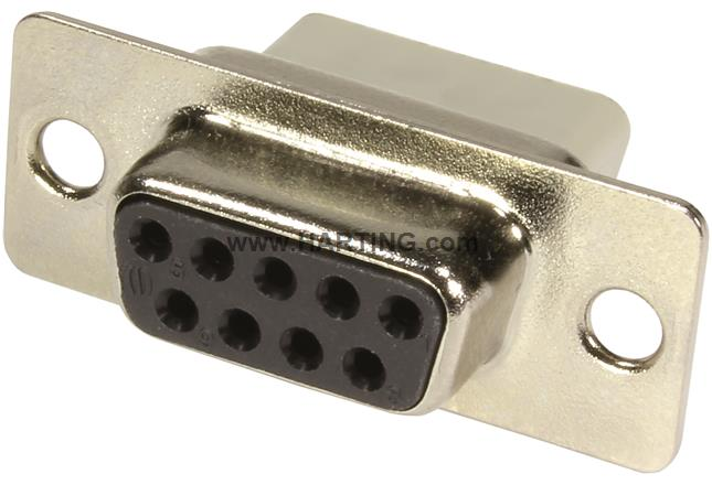FREE SHIPPING 5 x D-SUB CONNECTOR 9 PINS FEMALE