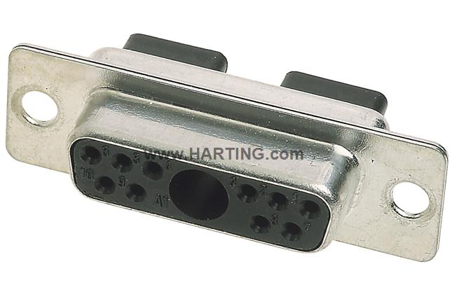 D SUB FE 11W1 crimp connector without ac