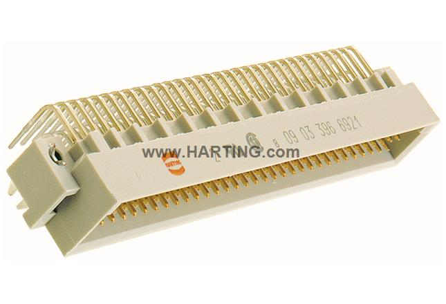 DIN Signal type C male solder with clip