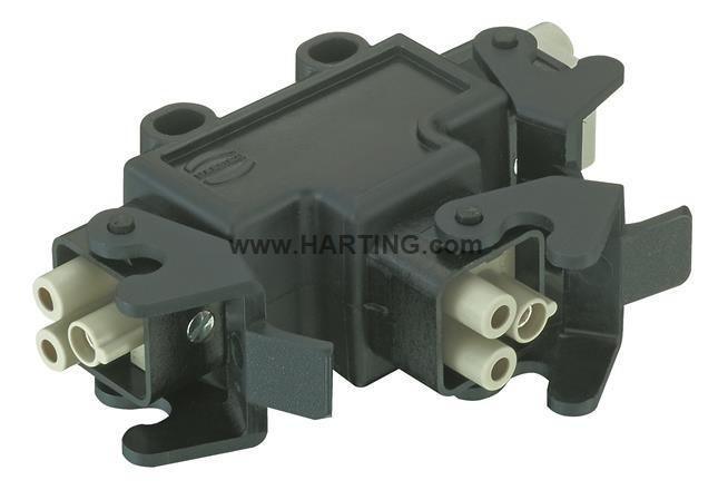 Han-Power T 3 x Q2/0 Kunststoff
