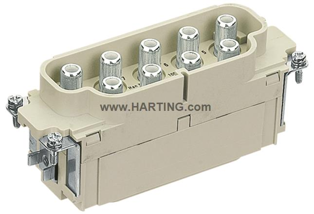 Han K 8/0 Pos. M Insert 100 Amp. 10-25mm