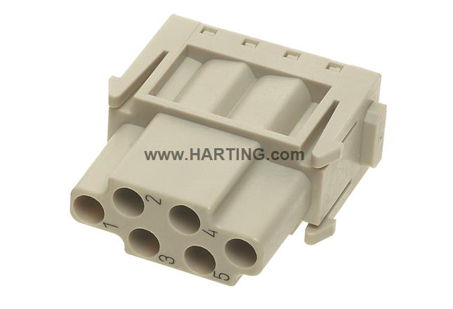 Han E module, crimp female