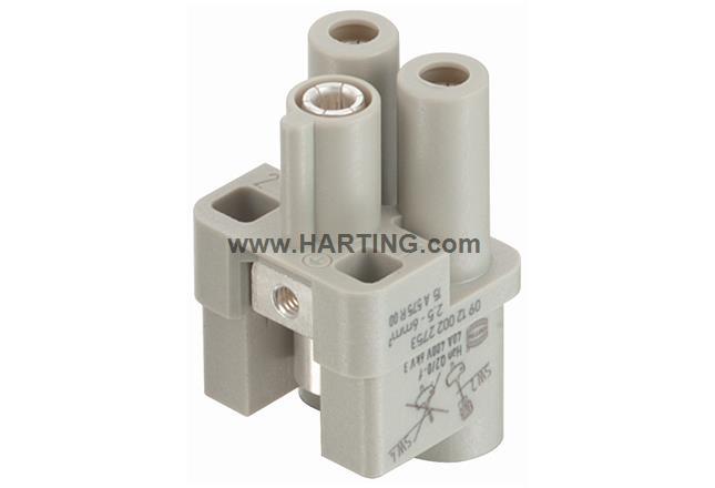 Han Q 2/0-bu 4-6 mm² (10 mm² opt.)