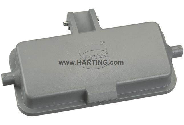Han 10A-Cover-Plastic 2 Pins, f. BP