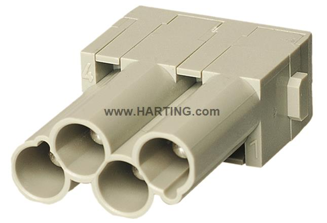 Han CC Protected module, crimp male