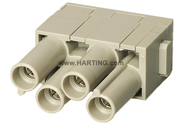 Han CC Protected module, crimp female