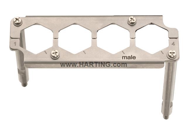 Han 24 HPR EasyCon Frame Male 4XHC350