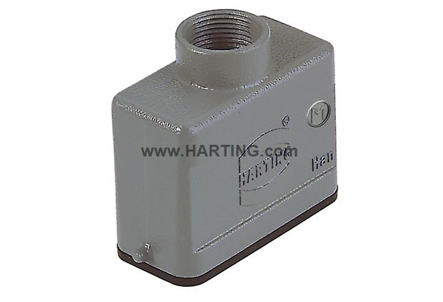 Han A Hood Top Entry LC two pegs M20
