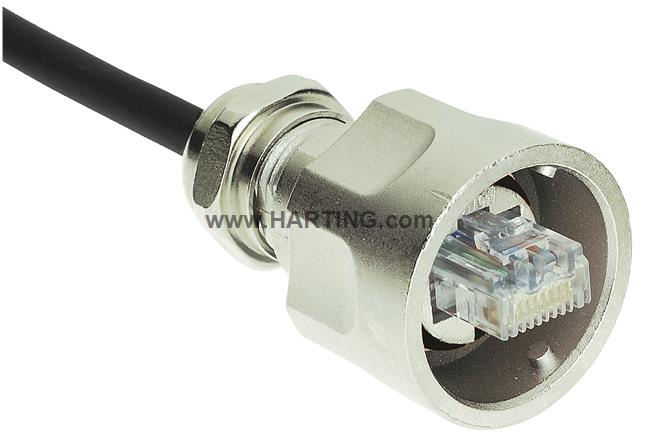 Han-Max RJ45 plug Cat5, 8p, shielded