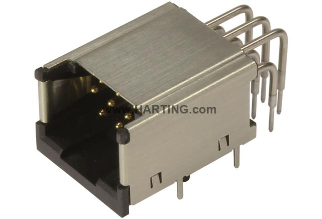 HPP V4 Signal THT 10pole horizontal jack