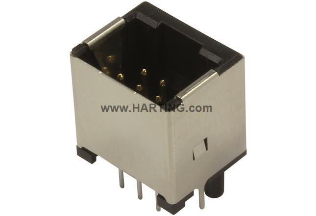 HPP V4 Signal THT 10-pole vertical jack
